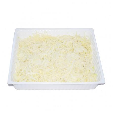 Chou blanc émincé 2kg