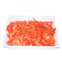 Poivron rouge émincé 1kg