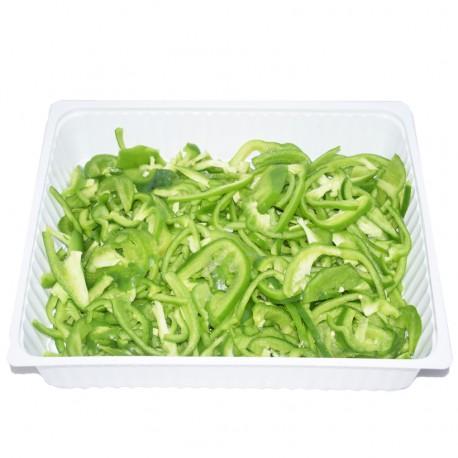 Poivron vert émincé 1kg