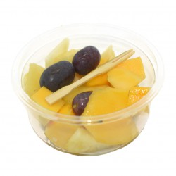 Salade de fruits estivale Ananas Mangue Raisin