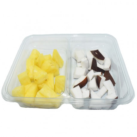 Duo exotique ananas coco
