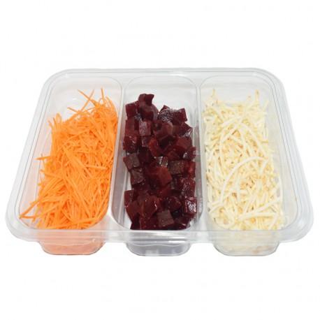 Salade de carottes, betteraves et céleri 400 g