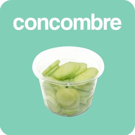 Concombre tranches 200g